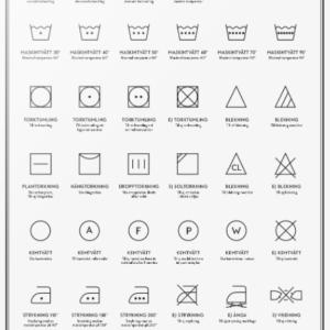 Print Tvättsymboler