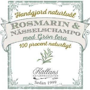 Naturtvål/schampo rosmarin och nässlor